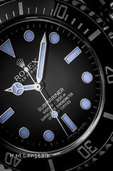 L1001944-2 (H.M.Lentalk) Tags: leica t typ 701 adapter leitz macro elmarit r 60mm product watch time timepiece uhren rolex submariner