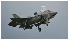 F-35B Lightning II USMC 168726:VM-18 (Ciaranchef's photography.) Tags: f35b lightningii f53lightning lockheed farnborough2016 farnboroughairshow airshow airdisplay usmarinecorps flyingdisplay flying militaryjets militaryaviation nikonaviation nikon18300mmf3556gedvr nikond7000