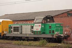 Alstom 66452 - BB 669452 / Hazebrouck (jObiwannn) Tags: train fret locomotive infra ferroviaire