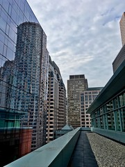 Independence Wharf ((Jessica)) Tags: boston pw newengland viewdeck independencewharf leadinglines architecture massachusetts reflection