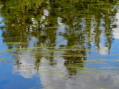 Reflection in Picture Lake (Ramona H) Tags: lake reflection pattern picturelake mtbaker northcascades cascades