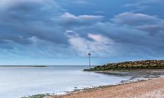 Lux Fiat (nicklucas2) Tags: seascape groyne pebble sea seagull solent cloud seaweed seaside