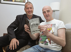 PC Paul Delivers Poetic Justice for Oliver (Greater Manchester Police) Tags: poet poetry olivermoran outofmymind musesofanunlikelypoet mentalhealth author manchesterpoet poetrybook manchesterwriter pauldavies manchesterauthor