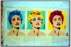 MADONNA by PEGASUS (StockCarPete) Tags: madonna pegasus streetart londonstreetart wallart popart