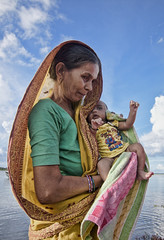 New Born (Tapas Ghosh Photography) Tags: portrait portraitphotography streetphotography age bengal color life indian newborn erath mother baby face sundarban people nature motherandchild love care happiness happylife