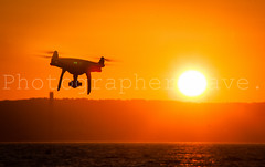 DJI Drone. (Photographer Dave C) Tags: sky stunning sun sea sunset summer seascape skyscape silhouette sunny canon canon40d colour creative creativephotography cool canonofficial bangor beauty belfastlough drone 2016 mygearandme mymindseye