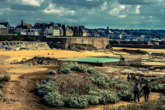 SAINT MALO AUTREMENT IMG_4039 (photo.bymau) Tags: bymau canon 7d seaside saint malo brittany french france plage beach cost cote mer color couleur colorfull
