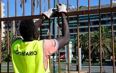 Kennedy31 (Genova citt digitale) Tags: richiedenti asilo genova piazzale kennedy agosto 2016 volontari nigeria lavoro ilva