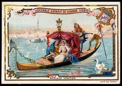 Liebig Tradecard S417 - A Venetian Marriage (cigcardpix) Tags: tradecards advertising ephemera vintage liebig chromo wedding marriage