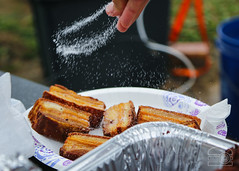 Fried Pork Belly at our Tailgate (sheryip) Tags: tailgate food foodporn morgantown wvu pork belly