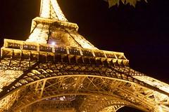 Eiffel Tower (Bob Bain1) Tags: paris iconic travel france buildings eiffeltower light nightscene