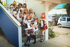(. . .) Tags: via del mar cosplay girl portrait anime love live umi rin hanayo nozomo eli maki honoka kotori orange