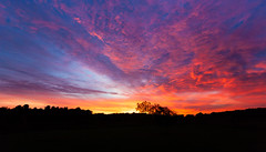 October Sunrise, we have ignition (hz536n/George Thomas) Tags: 2016 cs5 canon canon5d ef1740mmf4lusm michigan october copyright fall sky sunrise upnorth