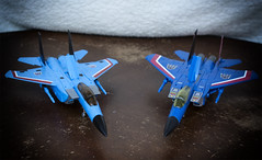 Sleek Killers (Jon..Hall) Tags: masterpiece transformers seeker seekers thundercracker hasbro igear jet altmode nikon nikond7100 d7100 toy toys toyphotography