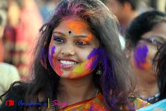IMG_0055 (anupamadhikary) Tags: colorful holi utsav basanta dol 2015 santiniketan