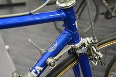 NAHBS2015_0039 Della Santa and Campagnolo (kurtsj00) Tags: show santa bicycle ky frame louisville custom della campagnolo 2015 nahbs
