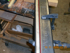 Hank Kennedy table saw project - diy guide rails 04