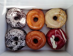Suzy Q Doughnuts (Richard Pilon) Tags: food canada ottawa suzy q doughnuts iphone iphoneography