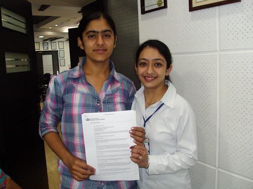 Counselor handling Australia Student visa to Sandeep kaur Malhi