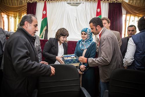Ploumen bezoekt Jordanië