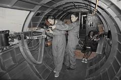 7 O'clock low (chad_shahin) Tags: wasp b17 b17bomber missangela womenairforceservicepilots fifinella