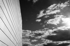 Oslo Opera House #5 (eenty) Tags: city sky bw white oslo norway architecture modern clouds opera operahouse blackwhiteblack oslooperahouse