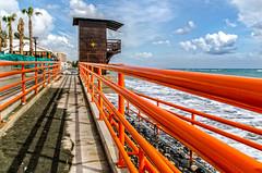 Ramp to the beach. (C.G.Photos) Tags: beach travels cyprus limassol