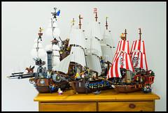 LEGO Ship Comparison