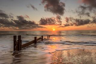 Seaham Beach at Sunrise