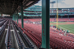 Fenway Park-obstructed view