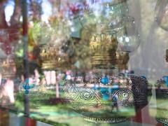 Omar Khayyam Tomb Complex Memorial Neishabur Nishapur Iran (oksana8happy) Tags: copyright reflection lamp lampe memorial heiconeumeyer iran turquoise tomb mausoleum jade reflexion gems spiegelung gem reflektion khorasan mirroring copyrighted trkis omarkhayyam khayyam neyshabour neyshabur khayam islamicrepublicofiran islamicrepublic petroleumlamp jadestone omarkhayam khorasanprovince nishapur neishabur nishabur razavikhorasanprovince neyshapur razavikhorasan islamischerepublic mausoleumofomarkhayyam omarkhayyammuseum omarkhayyamtombcomplex razichorasan razichorasanprovince