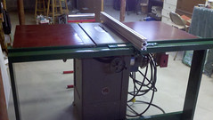 Anthony Ciccotelli table saw with VerySuperCool Tools fence system
