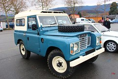 Land Rover (alex73s https://www.facebook.com/CaptureOfAlex?pnr) Tags: auto old blue terrain english classic car canon automobile european 4x4 transport meeting automotive rover voiture retro bleu coche land british oldcar chambery macchina ancienne tout vehicule rassemblement anglaise europeenne