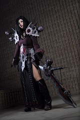 Warcraft (Anime Indian) Tags: woman beautiful worldofwarcraft warcraft sword warrior aacc amazingarizonacomiccon aacc2015