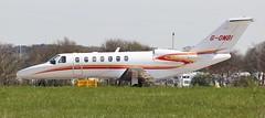 G-OMBI PRIVATE CESSNA 525B CITATIONJET CJ3 (Roger Lockwood) Tags: private leedsbradfordairport lba egnm gombi cessna525bcitationjetcj3