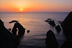 Uradome Coast Sunset (Yohsuke_NIKON_Japan) Tags: sunset rock japan coast tottori sanin uradome d7100 uradomecoast