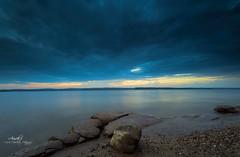 Storm Coming (Avisek Choudhury) Tags: longexposure northcarolina apex gitzo jordanlake stormcoming leefilters nikond800 avisekchoudhury acratechballhead nikon1635mm avisekchoudhuryphotography jordonlakenc