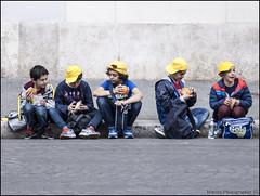 S 096 24 04 2015 (marcos 1950) Tags: street blackandwhite roma piazzanavona biancoenero scattidistrada