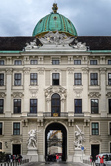 Hofburg Wien (ManuelHurtado) Tags: countries places ancient architecture art austria austrian building cityscape cloudy dome europe european facade heritage historic historical history hofburg imperial landmark monument old palace royal street tourism travel urban vienna wien at