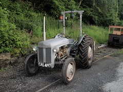 CAS 497 (Lost-Albion) Tags: masseyferguson cas497 tractor highley severnvalleyrailway