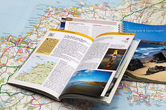 """KERNOW"" (dppdi (2003-2016)) Tags: photographershome cheshire england uk cornwall kernow map roadmap touristinformationguides books"