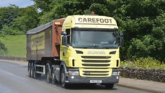 PK12 OEX (panmanstan) Tags: truck wagon derbyshire transport lorry commercial vehicle freight scania bulk haulage doveholes g420