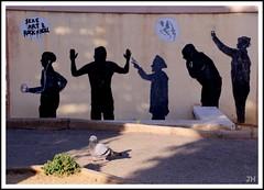 Message.. (au35) Tags: corse pigeon tag peinture oiseaux d5000 nikon message