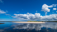 Sky Watching (allachie9) Tags: lossiemouth moray morayfirth weatherwatcher sky reflections clouds