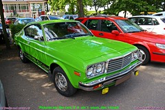 Mazda 929 H/T GLC 1977 (Trucks and nature) Tags: mazda 929 ht hardtop glc 1977 70s green coupe classic chrome japanese cool show