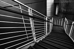 san jose city hall stairs (hbphototeach) Tags: approved san jose city hall bay area california stairs architecture black white contrast curved lines