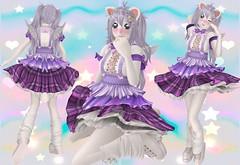 Pop Star Sweetie (SerenitySemple) Tags: secondlife furry fashion barerose egl party event free gift ayashi hairfair tsg mokyu utilizator anime animehead kawaii