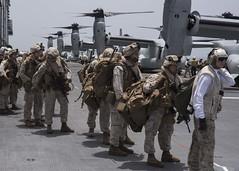 160712-N-LG762-145 (CNE CNA C6F) Tags: lhd1 marines osprey usswasp wasparg atlanticocean moroccan