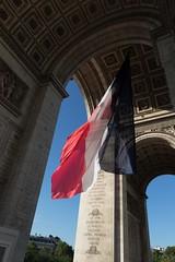 Un jour, daesh, ton nom sera ajout  la liste des victoires dj graves sur cet Arc de Triomphe car tu seras dtruit. #vivelafrance #libert #jesuisnice #jesuisfrancais (Jean-Phi92) Tags: libert jesuisfranais jesuisnice fb