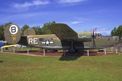 CONSOLIDATED-VULTEE B-24M LIBERATOR (<<Purple Bullet>>) Tags: castle air museum b17 b24 b29 b36 b47 b52 vulcan sr71 bomber fighter aircraft plane sonya6000 zeiss